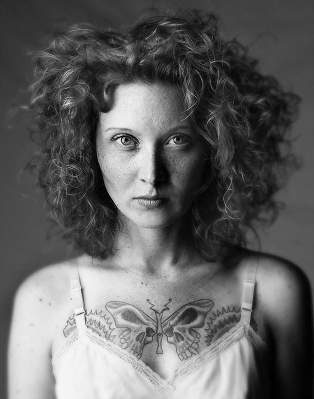 Arsonist Tattoos Photo by Model Ann Arbor Mel