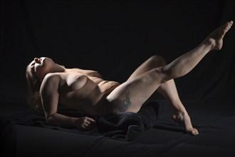 Art Shoot Artistic Nude Photo by Artist Robert Barker