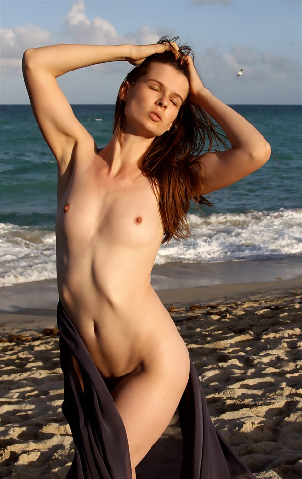 Artemis Bare Artistic Nude Artwork by Photographer Rick Gordon