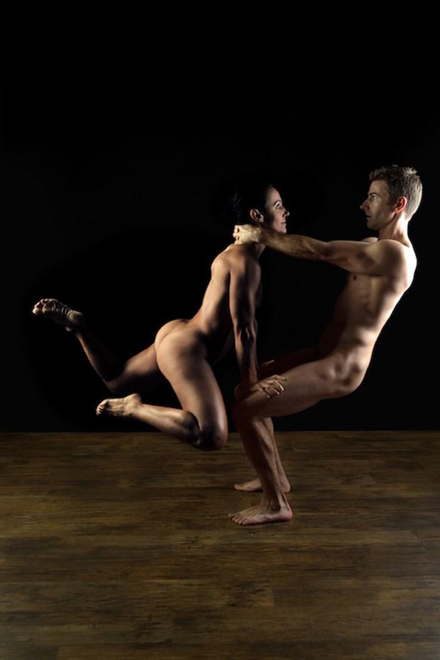 Artistic Nude Abstract Artwork by Model AnayaVivian