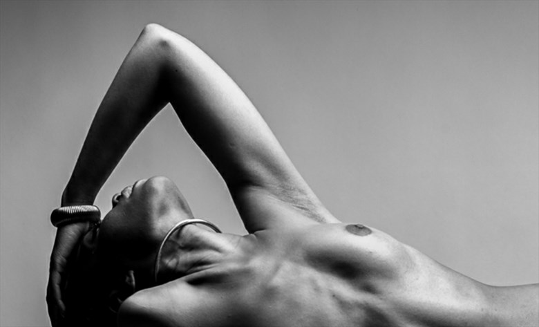 Artistic Nude Abstract Artwork by Model Tea