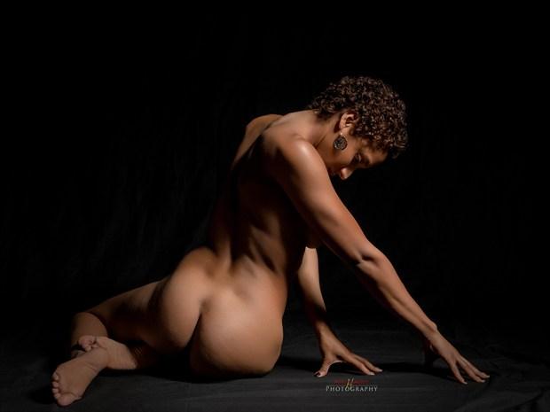 Artistic Nude Abstract Artwork by Photographer mehamlett