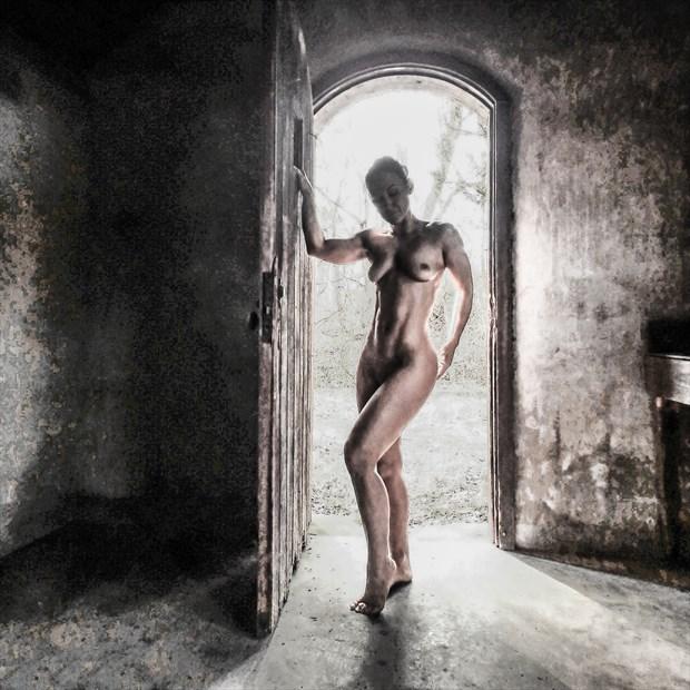Artistic Nude Abstract Photo by Model AnayaVivian