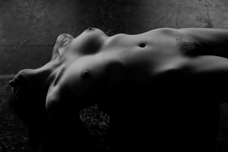 Artistic Nude Abstract Photo by Model Gilly Rivera