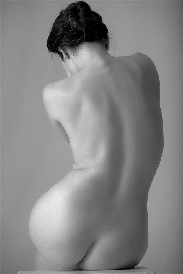 Artistic Nude Abstract Photo by Model Nicole Vaunt