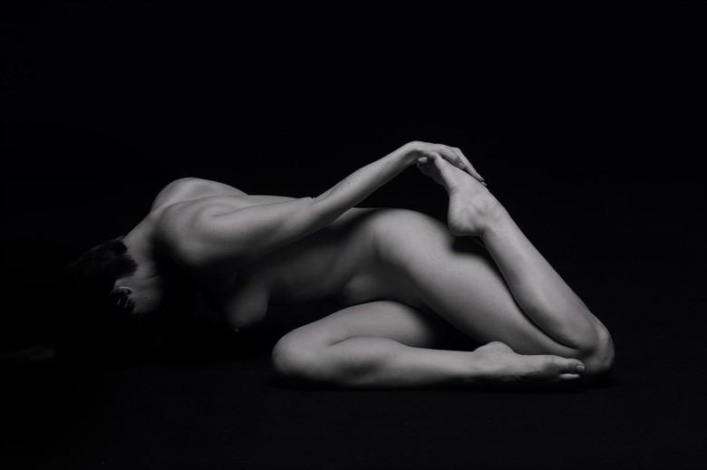 Artistic Nude Abstract Photo by Model Nymph