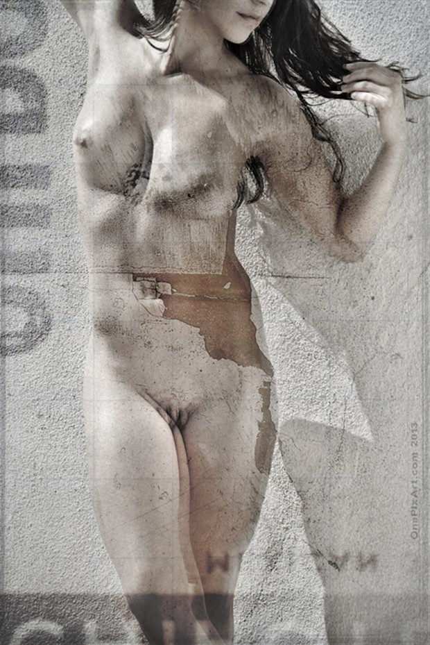 Artistic Nude Abstract Photo by Model Sekaa