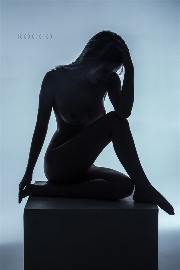 Artistic Nude Abstract Photo by Model Shelby Green