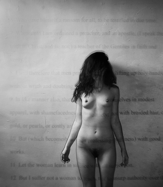 Artistic Nude Abstract Photo by Model Sirena E. Wren