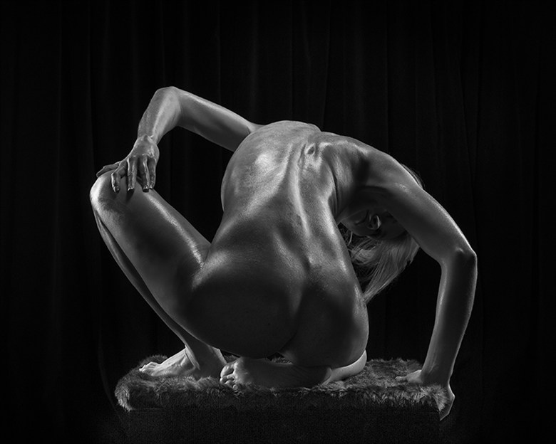 Artistic Nude Abstract Photo by Photographer AJ Kahn