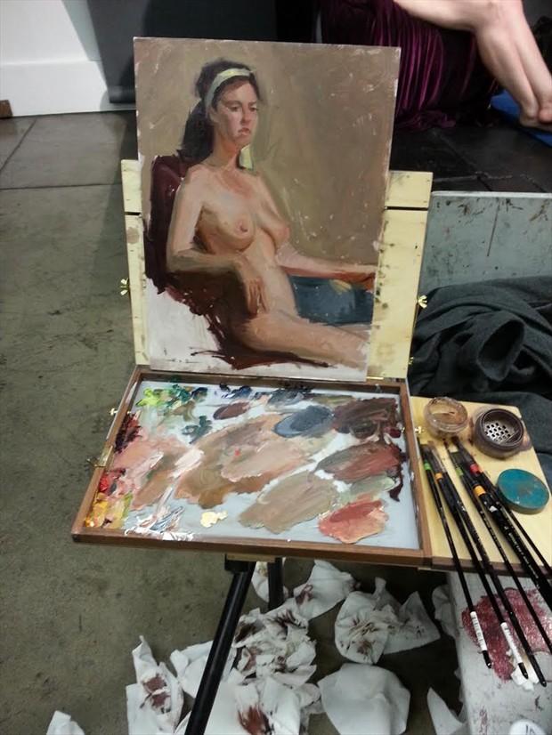 Artistic Nude Alternative Model Artwork by Artist ShunXie