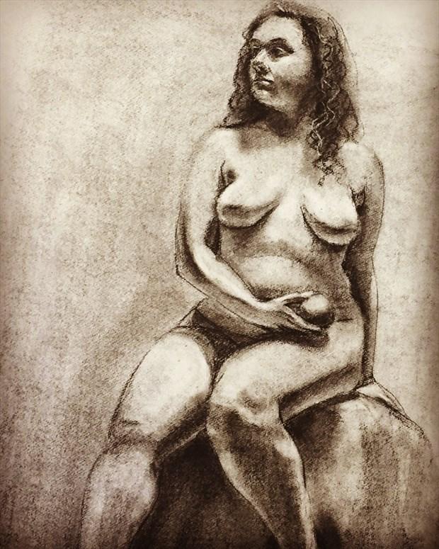 Artistic Nude Alternative Model Artwork by Model Beebe