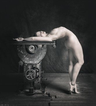 Artistic Nude Alternative Model Artwork by Photographer CM Photo