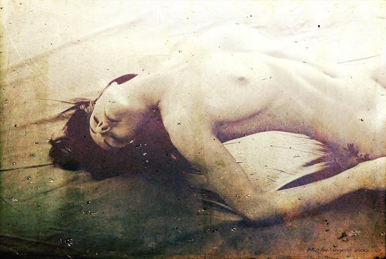 Artistic Nude Alternative Model Artwork by Photographer Michelangelo