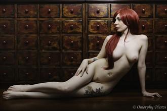 Artistic Nude Alternative Model Photo by Model Leza Lush