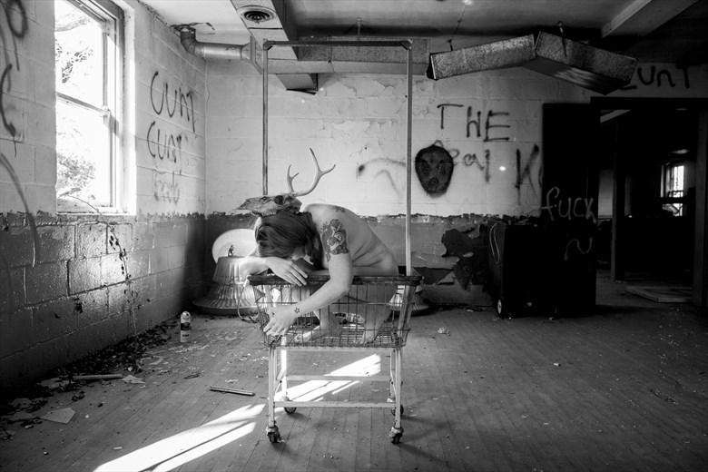 Artistic Nude Alternative Model Photo by Model Mora Ashby