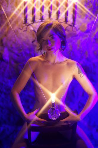 Artistic Nude Alternative Model Photo by Model Opallette