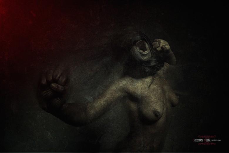 Artistic Nude Alternative Model Photo by Photographer Christian Melfa