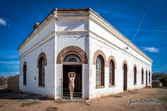 Artistic Nude Architectural Photo by Model Cheyannigans