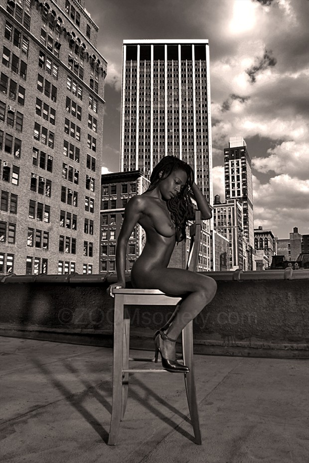 Artistic Nude Architectural Photo by Model Currently updating
