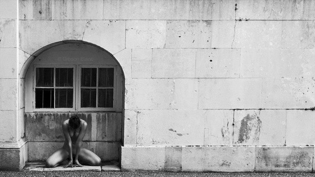 Artistic Nude Architectural Photo by Model Madelainee