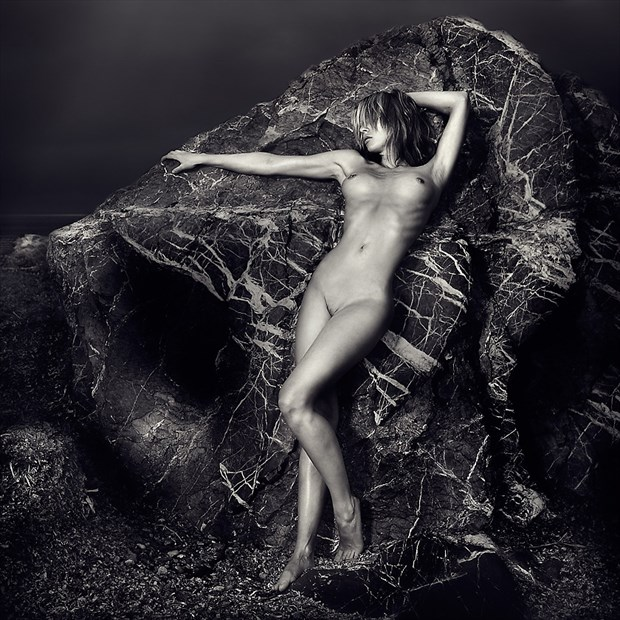 Artistic Nude Artwork by Model Anna Johansson