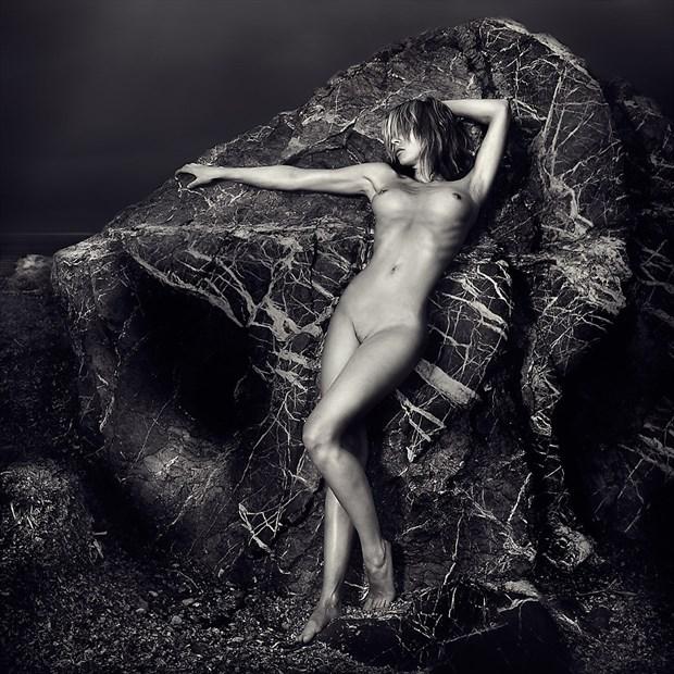 Artistic Nude Artwork by Model Anna Johansson
