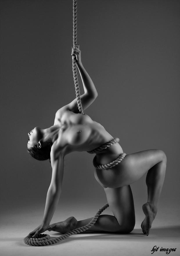 Artistic Nude Artwork by Model Elle Beth