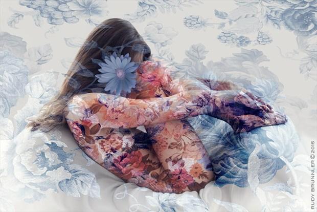 Artistic Nude Artwork by Photographer RudyBrunnler