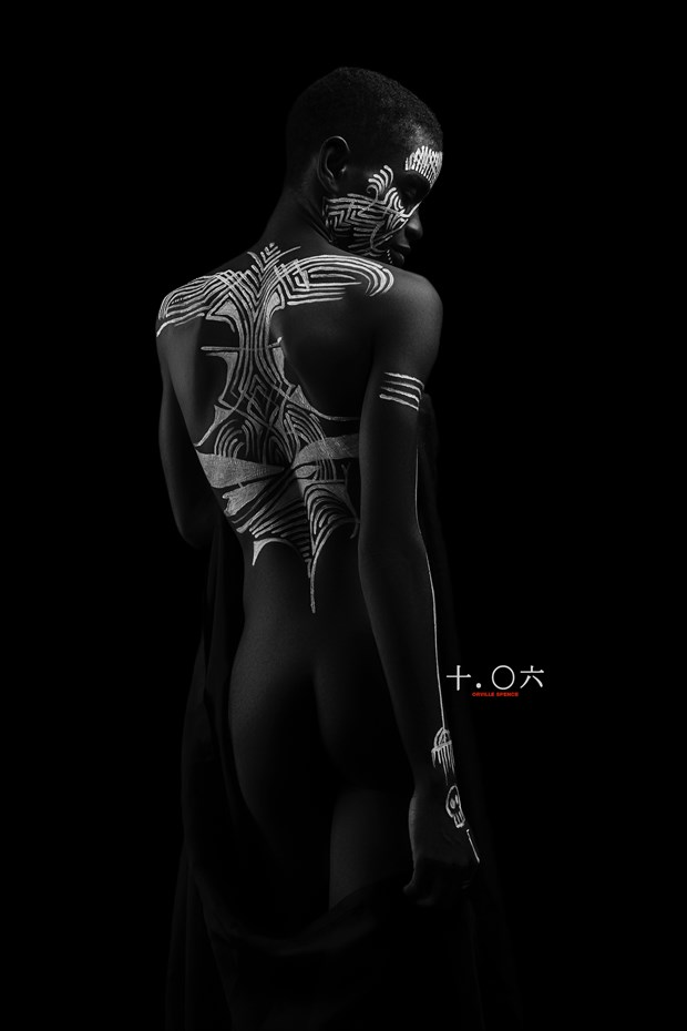 Artistic Nude Body Painting Artwork by Photographer Orville Spence