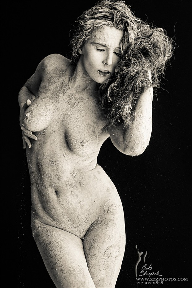 Artistic Nude Body Painting Photo by Model Alexandria Adair