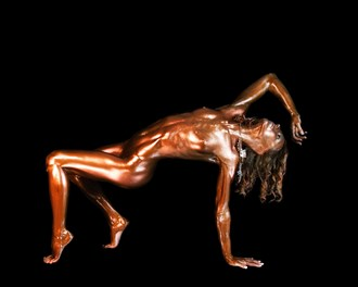 Artistic Nude Body Painting Photo by Model Chelsea Jo