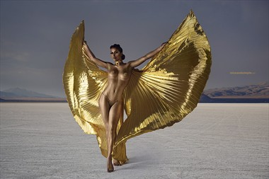 Artistic Nude Body Painting Photo by Model Elle Beth