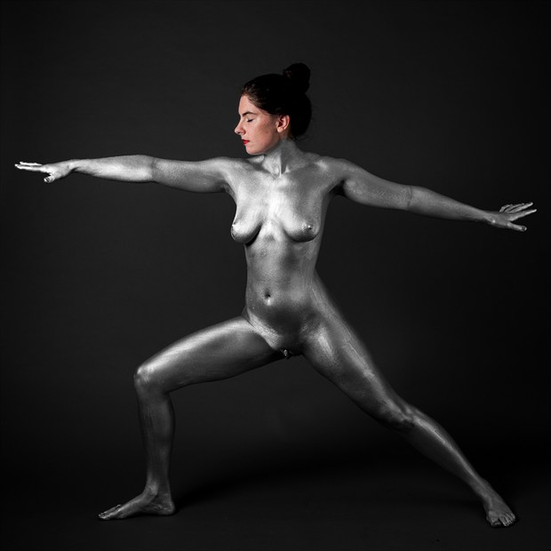 Artistic Nude Body Painting Photo by Model Heather Gallagher