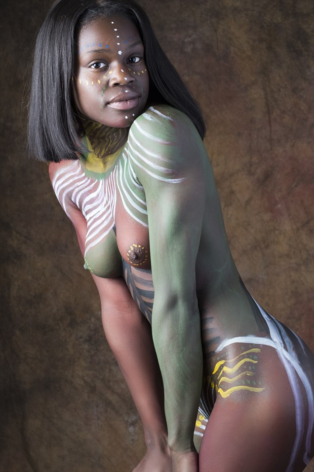 Artistic Nude Body Painting Photo by Photographer Tony Aldridge