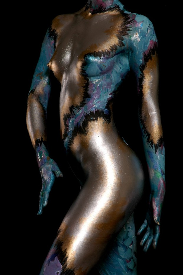Artistic Nude Body Painting Photo by Photographer aricephoto