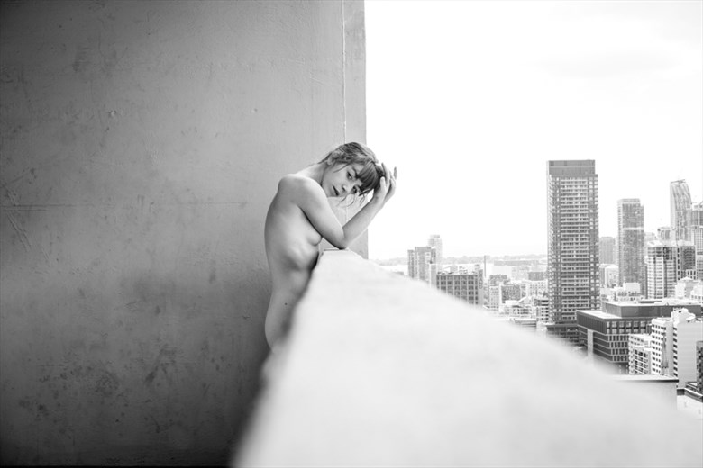 Artistic Nude Candid Photo by Model Liv Sage