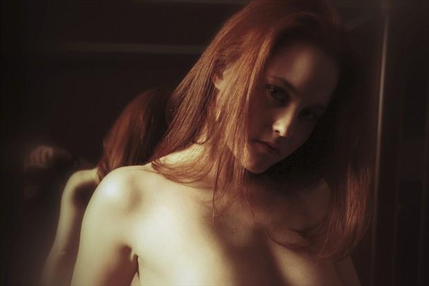 Artistic Nude Chiaroscuro Photo by Artist David Bollt