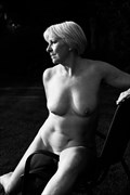 Artistic Nude Chiaroscuro Photo by Model Jana