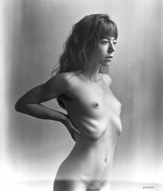 Artistic Nude Chiaroscuro Photo by Model Liv Sage