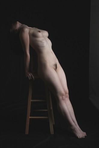 Artistic Nude Chiaroscuro Photo by Model cookielarke