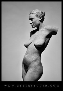 Artistic Nude Chiaroscuro Photo by Model erin elizabeth
