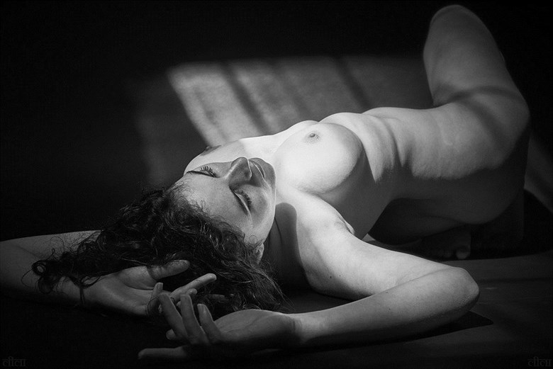 Artistic Nude Chiaroscuro Photo by Photographer Edward Maesen