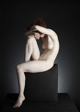 Artistic Nude Chiaroscuro Photo by Photographer Eric Kellerman