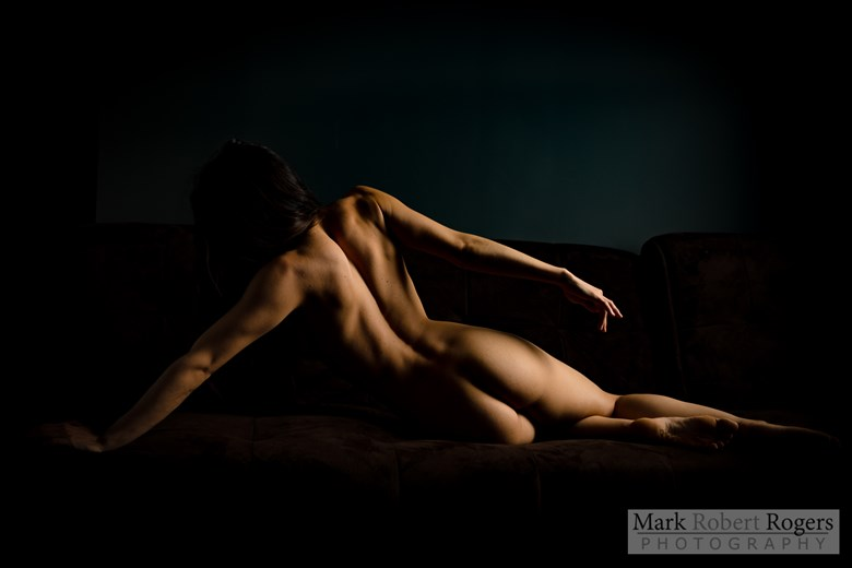 Artistic Nude Chiaroscuro Photo by Photographer MarkRobertRogers