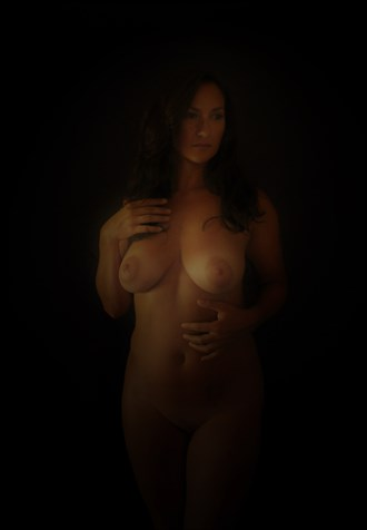Artistic Nude Chiaroscuro Photo by Photographer MephistoArt