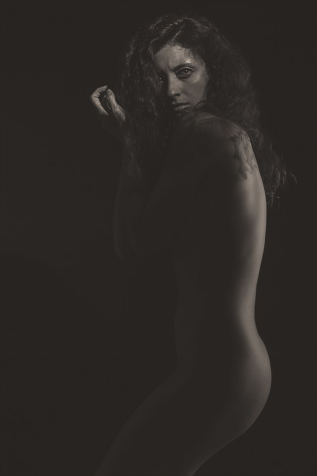 Artistic Nude Chiaroscuro Photo by Photographer ResolutionOneImaging