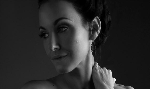 Artistic Nude Close Up Photo by Model AnayaVivian