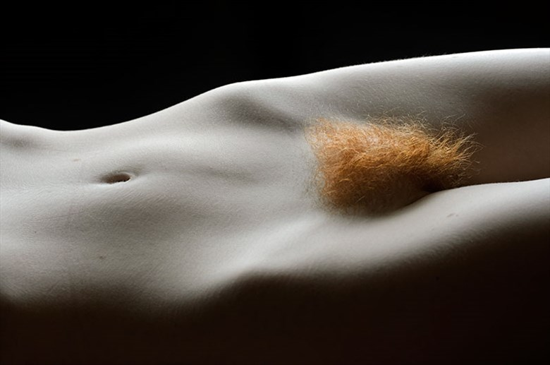 Artistic Nude Close Up Photo by Model Liv Sage