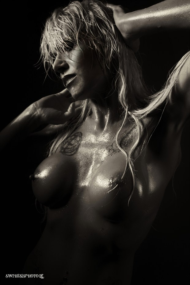 Artistic Nude Close Up Photo by Model Phoenix Starr